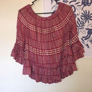 Lucky Brand Tribal Shirt